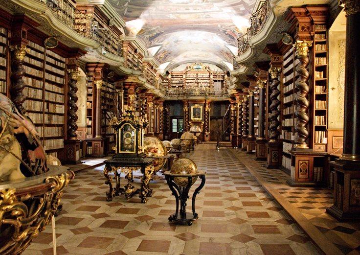 Amazing Libraries Klementinum