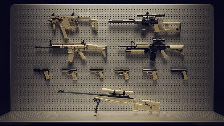 Inventions guns