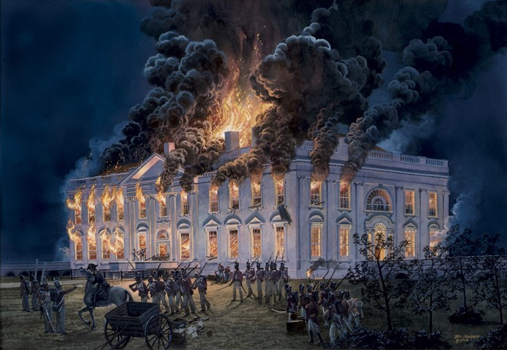 random facts about the war of fact retriever  4 interesting burning of the white house fact