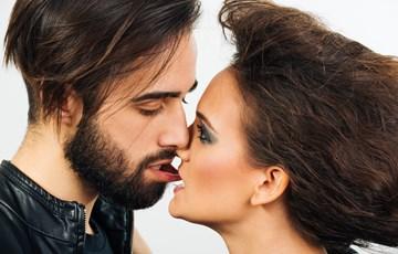 Men tongue kissing mens asshole