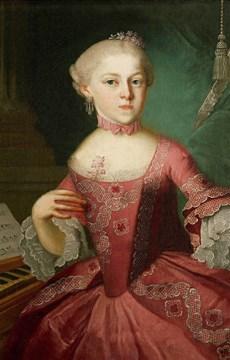 Interesting Mozart Sister Fact
