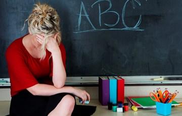 Image result for stressed kindergarten teacher